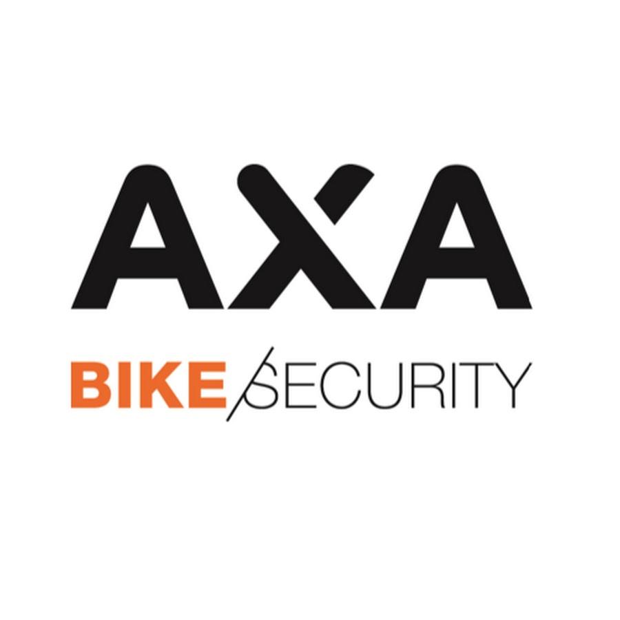 AXA logo, zabezpieczenia AXA dostępne w sklepie rowerowym - Łódź Kopernika 33